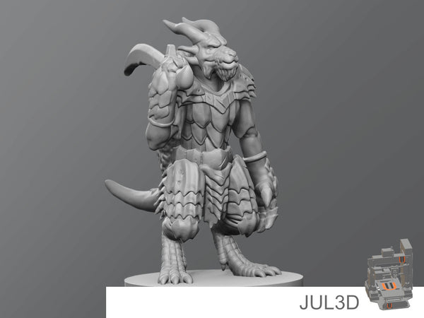 Kobold boss - JUL3D Miniatures