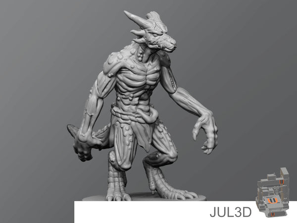 Kobold zombie - JUL3D Miniatures