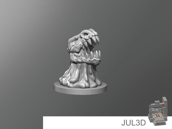 Skull slime - JUL3D Miniatures
