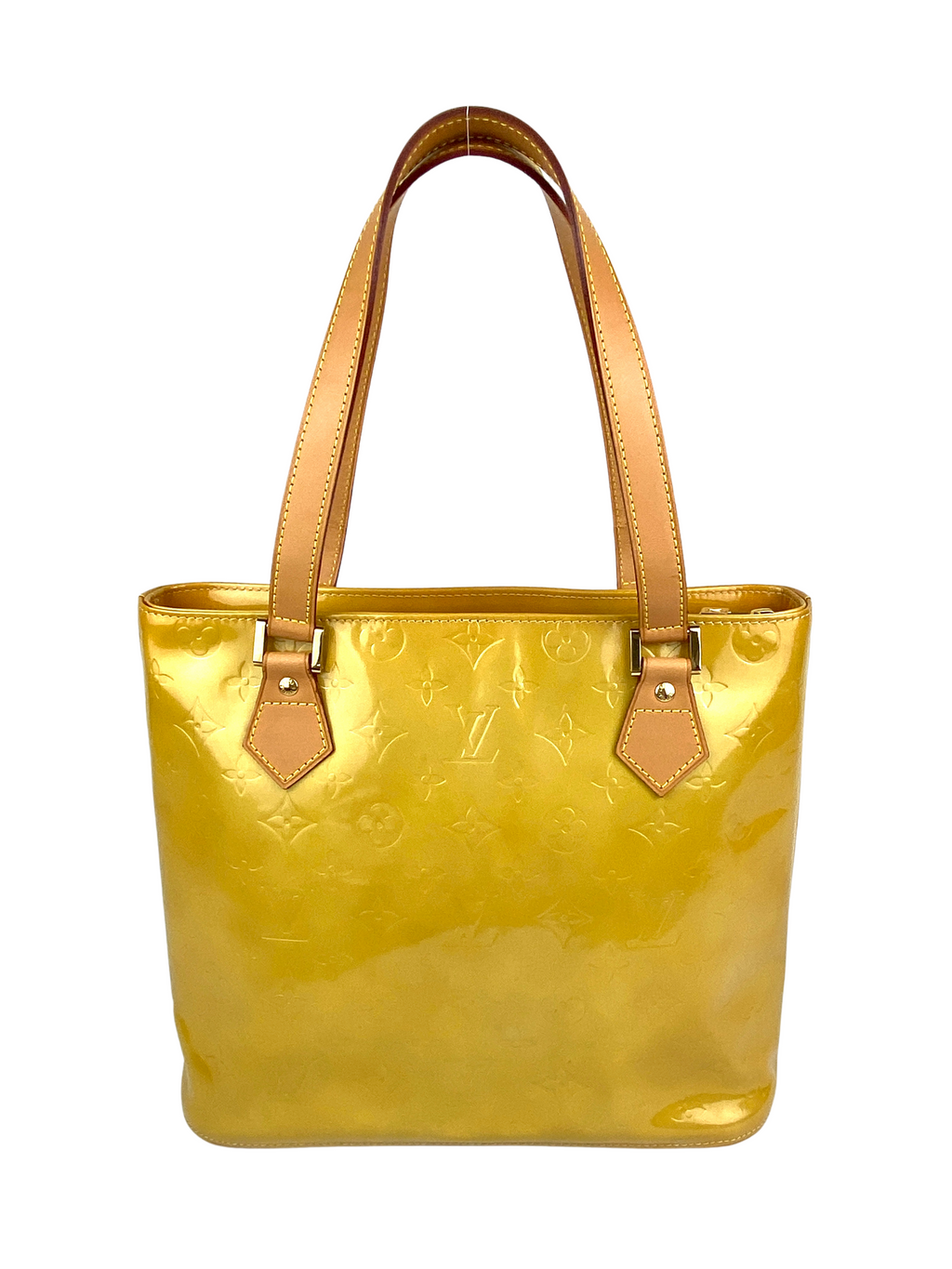 LOUIS VUITTON - HOUSTON MONOGRAM VERNIS YELLOW
