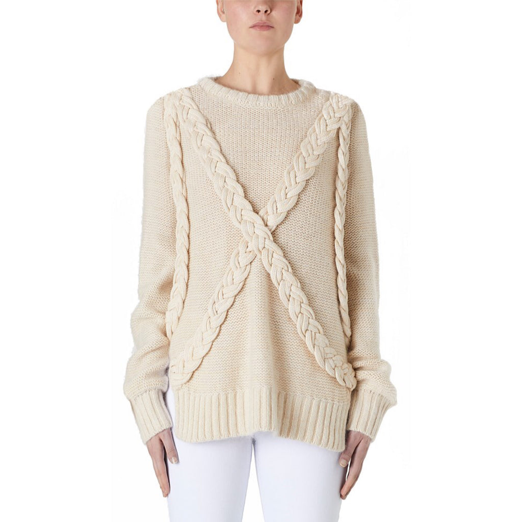VIKTORIA & WOODS - RESISTENCE PLAIT SWEATER - SZ 2