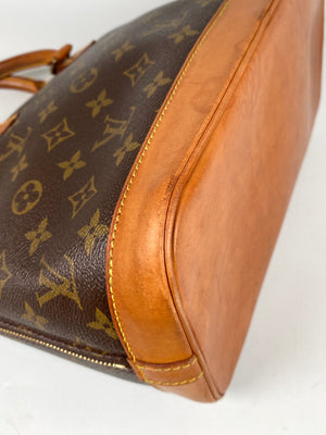 LOUIS VUITTON - ALMA PM HANDBAG MONOGRAM CANVAS - YR 1996