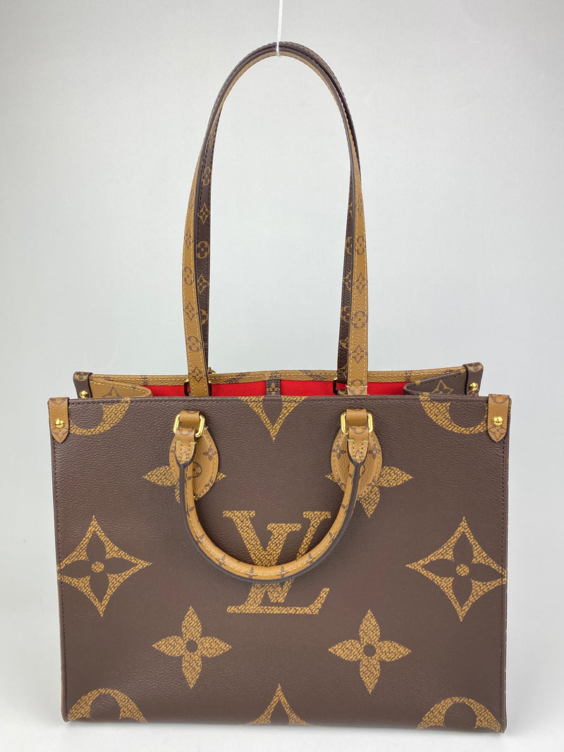 LOUIS VUITTON - ONTHEGO MM BAG IN MONOGRAM CANVAS