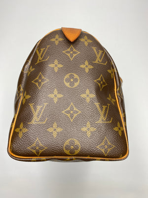LOUIS VUITTON - MONOGRAM SPEEDY 25 BAG - VINTAGE Year 2005