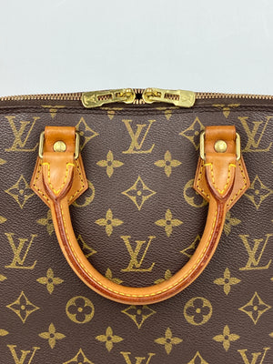 LOUIS VUITTON - ALMA PM HANDBAG IN MONOGRAM CANVAS - YR 1993