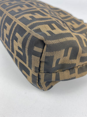 FENDI - ZUCCA MONOGRAM COSMETIC MAKE UP POUCH - VINTAGE