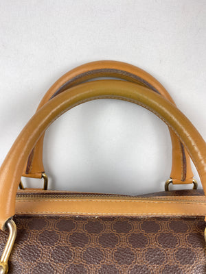 CELINE - MACADAM BOSTON HANDBAG IN MONOGRAM