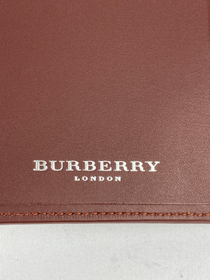 BURBERRY - NOVA CHECK SMALL AGENDA NOTEBOOK COVER - NEW