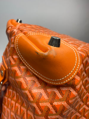 GOYARD - BOEING 55 TRAVEL BAG ORANGE