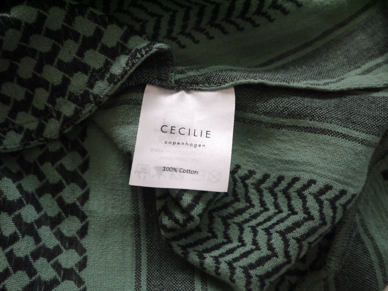 CECILIE COPENHAGEN - BASIC SKIRT IN MALACHITE GREEN - SZ M