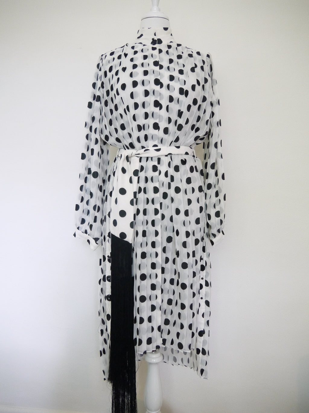 ZIMMERMANN - RIFE POLKA DOT TUNIC DRESS - SZ 2 - NEW