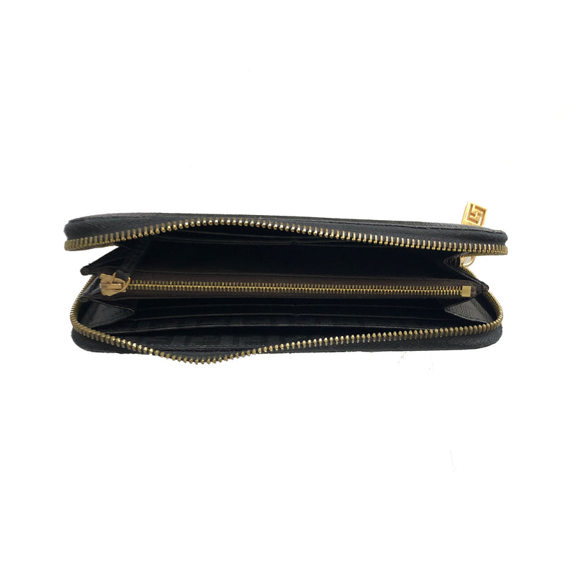FENDI - ZUCCHINO ZIP AROUND WALLET - VERY GOOD CONDITION