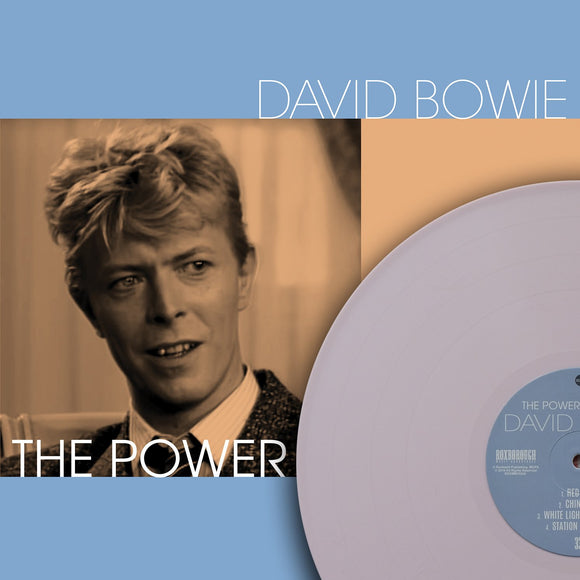 David Bowie, THE POWER TO CHARM, Limited Edition Coloured Vinyl, Numbered