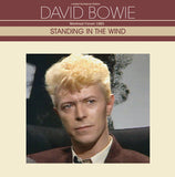 David Bowie, STANDING IN THE WIND, Limited Edition Ruby Red Vinyl, Numbered