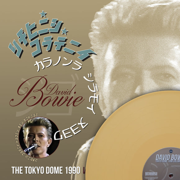 David Bowie, THE TOKYO DOME 1990 VOLUME ONE, Limited Edition Coloured Vinyl, Numbered