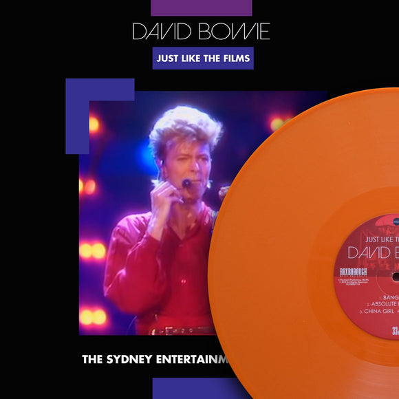 David Bowie, JUST LIKE THE FILMS, Limited Edition Coloured Vinyl, Numbered