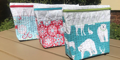 zipper bags free sewing pattern