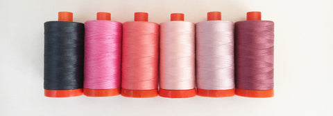Aurifil thread for sewing and quilting