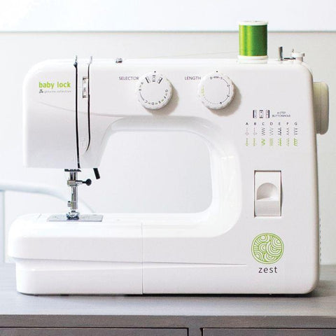 baby lock zest sewing machine for travel