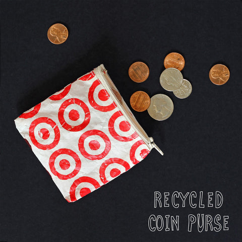 Recycled Coin Purse from Plastic Bag