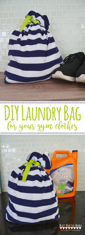 free sewing pattern laundry bag
