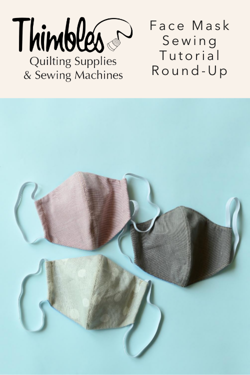 Face Mask Sewing Tutorial Round-Up