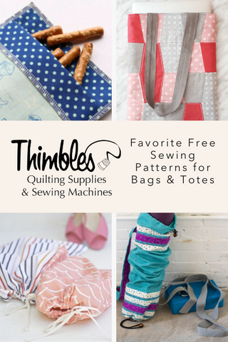 Favorite Free Sewing Patterns for Bags & Totes