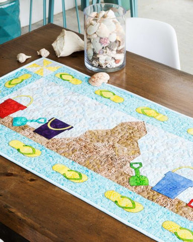 Summer Sandcastle Table Runner