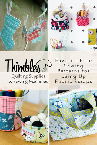 Favorite Free Sewing Patterns for Using Up Fabric Scraps