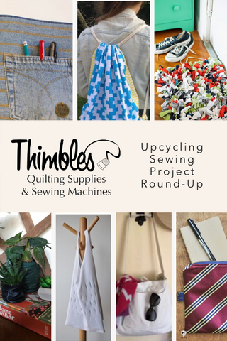 Upcycling Sewing Project Round-Up