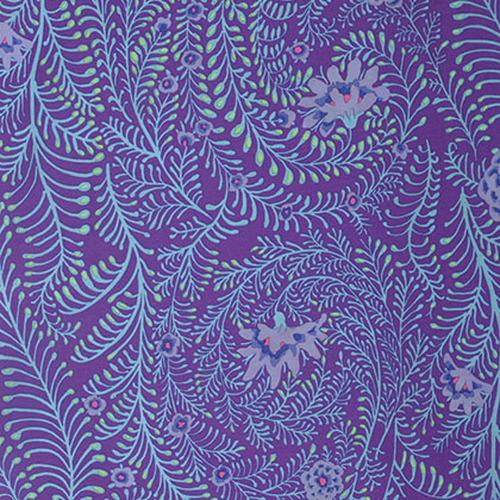 Ferns  Purple Kaffe Fassett