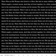 Goose Tales Text Black