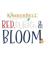 Red, White, Bloom Quilt   Embellishment Kit