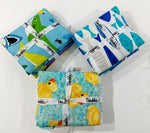 Shark Baby Quilt Kit w/ pattern and binding