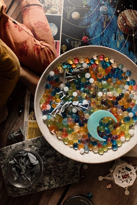 Children_of_the_Wild_Australia Huckleberry Sensory Water Marbles - Asteroids