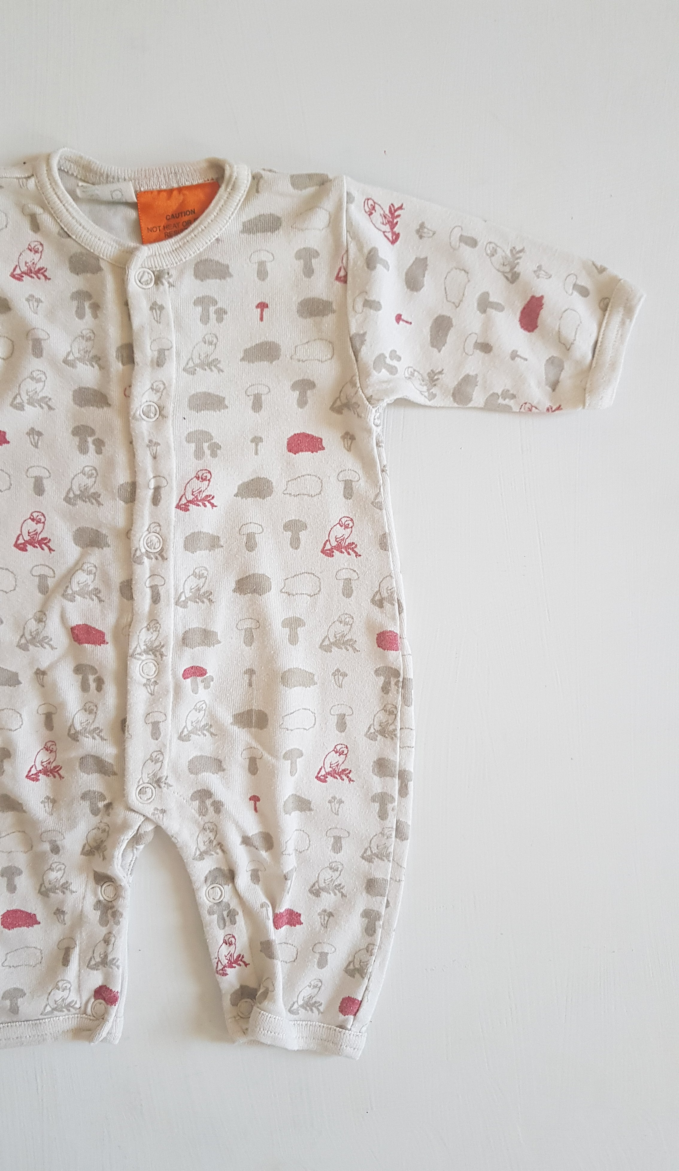 THRIFT Nature Baby - Forest Romper Size 0-3 months