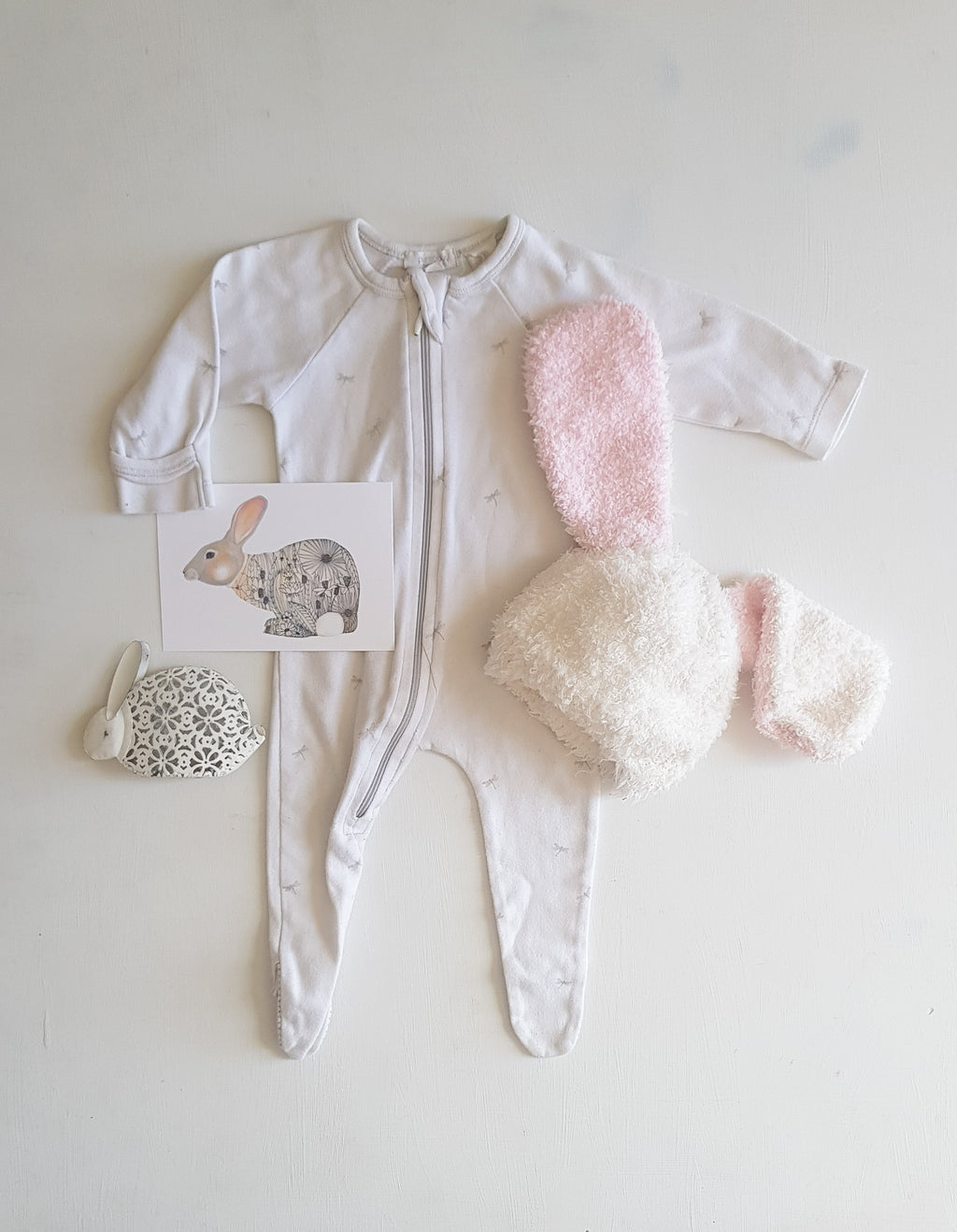 THRIFT Purebaby - Dragonfly Coverall Size 0000