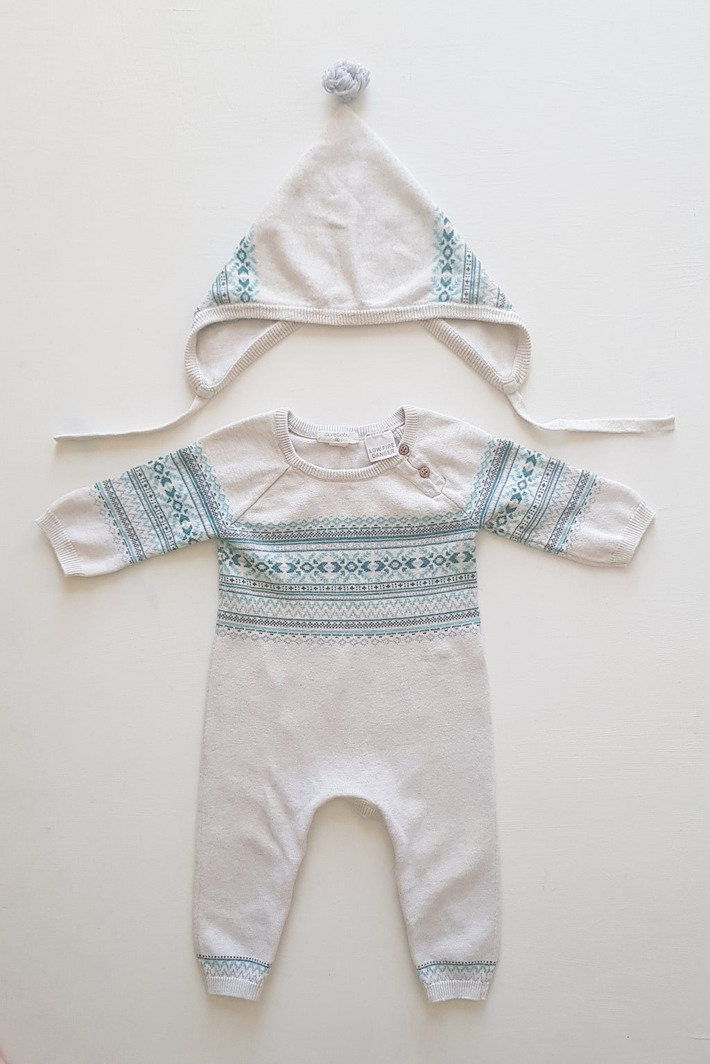 THRIFT Purebaby - Winter Knitted Set Size 00