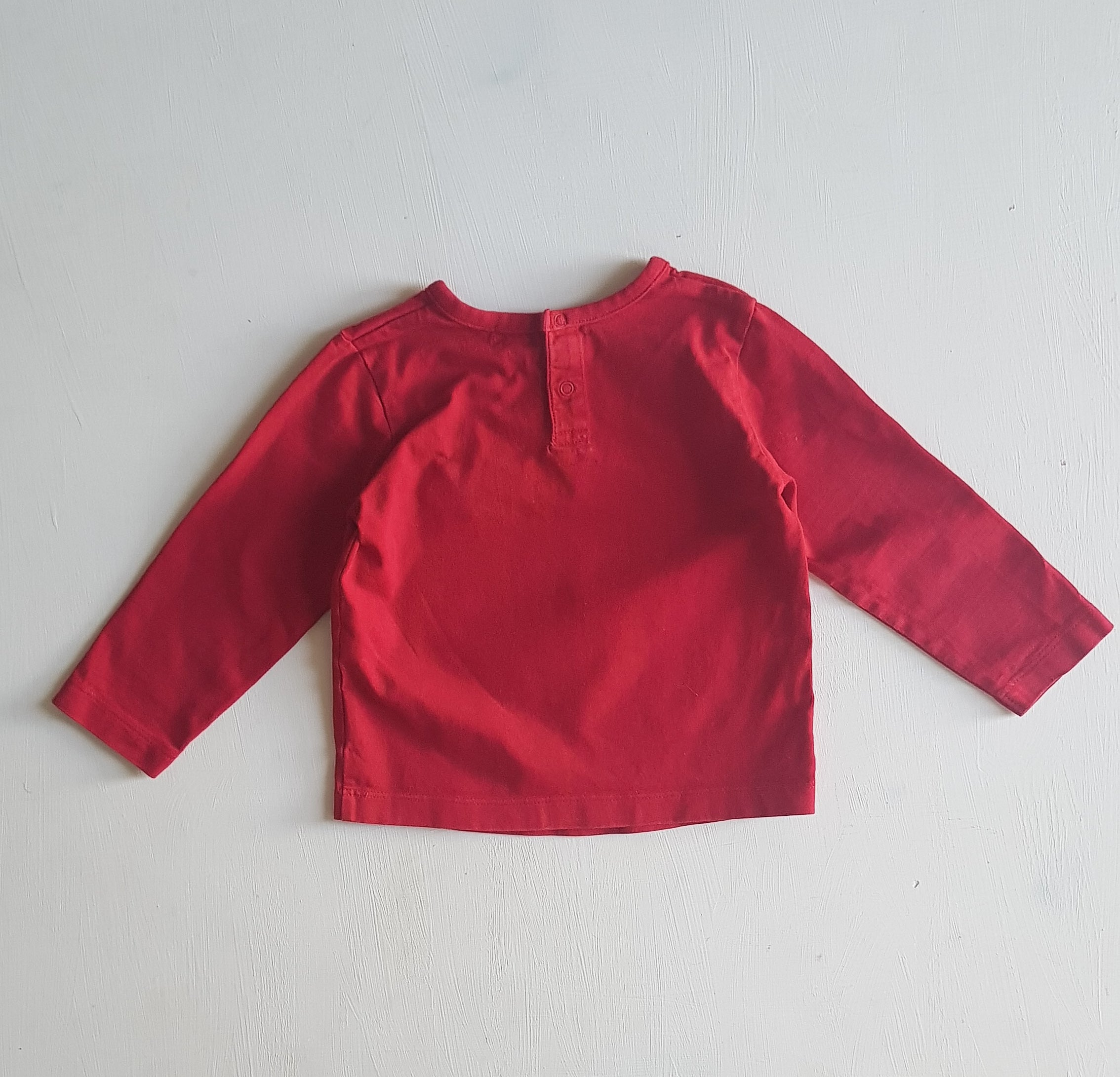 THRIFT Esprit - Red l/s tee