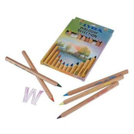 Lyra Super Ferby Natural Waldorf 12 Assorted Colours