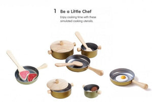 Plan Toys - Cooking Utensils