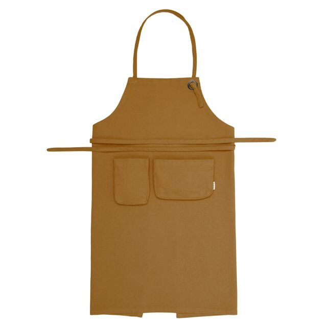 Numero 74 Kids Apron - Gold
