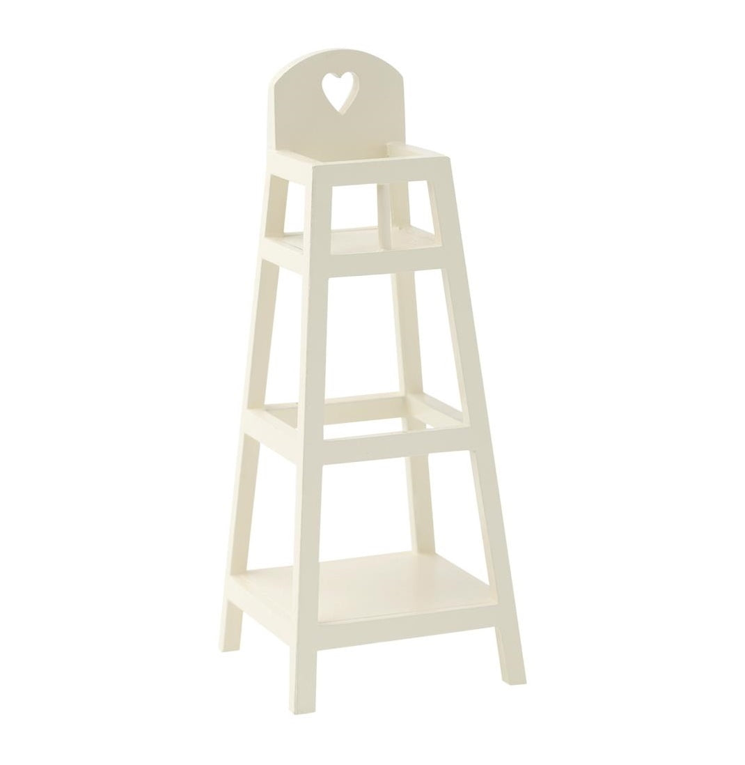 Maileg My Furniture High Chair White