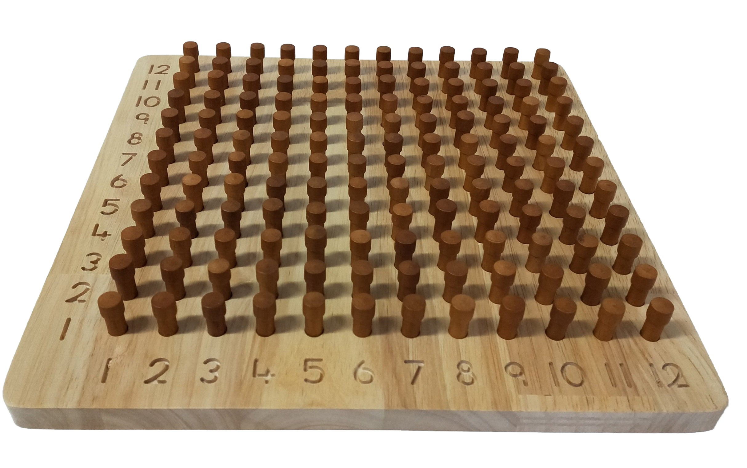 Q Toys Natural Wooden Maths Activity Board
