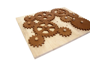 Qtoys Natural Gear Construction Set