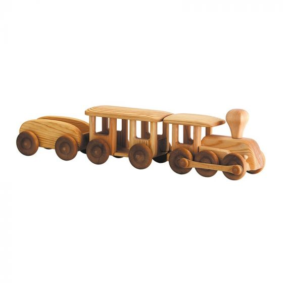 Debresk - Wooden Big 3 Carriage Train