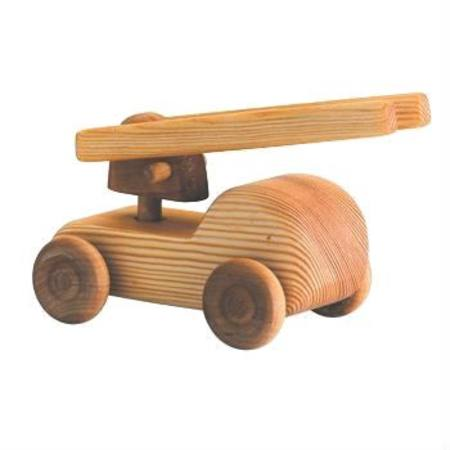 Debresk - Small Wooden Fire Engine