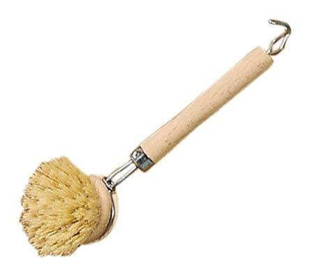 Gluckskafer Wooden Dish Brush Pig Hair