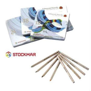 Stockmar Coloured Pencils Triangular Retail Tin - 12