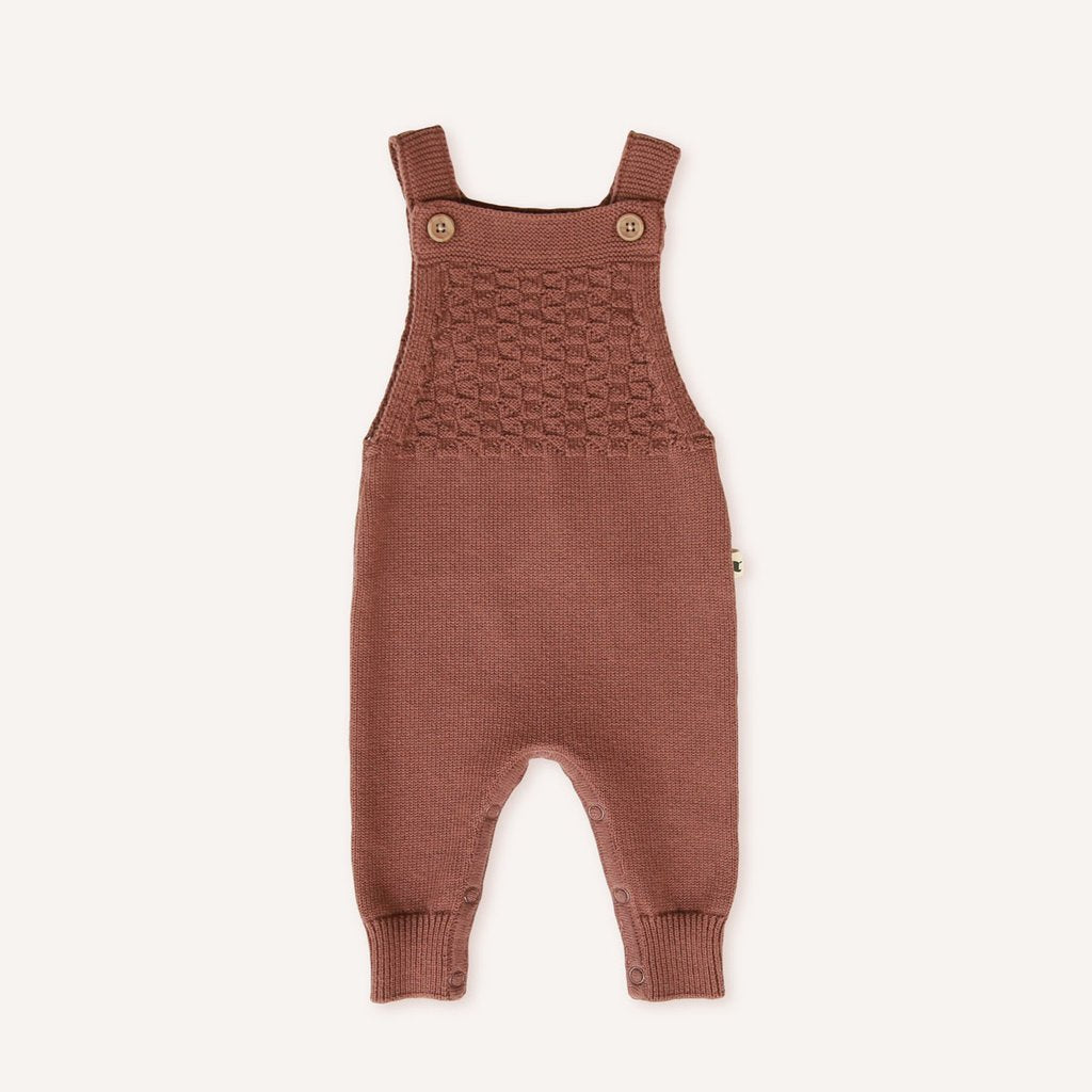 My Brother John - Acorn Knitted Woodchopper Overall
